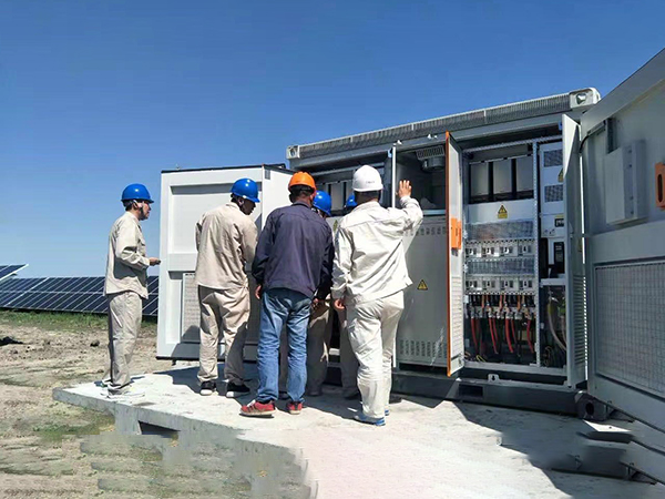 Safety Management of Photovoltaic Power Plant